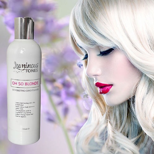 OH SO BLONDE Silverizing Conditioner
