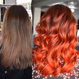 Copper Hair Colour Melt