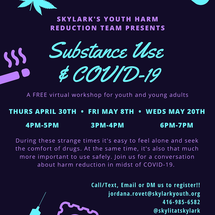 Substance Use & Covid-19