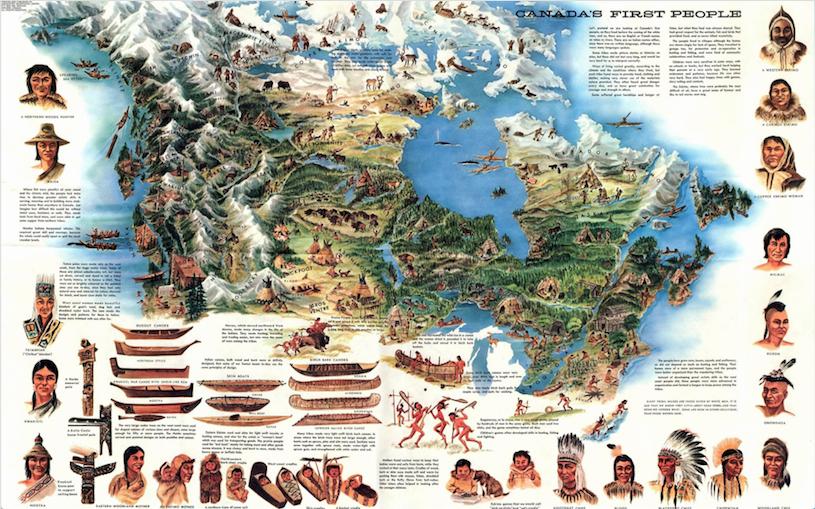 Các sắc tộc thổ dân Canada