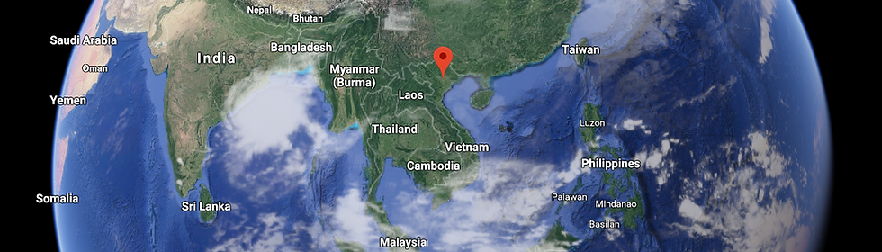 Vietnam is located in south-east Asia