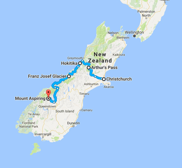 Travel Tuesday's: New Zealand IV (Arthur's Pass / Hokitika / Franz Josef Glacier)