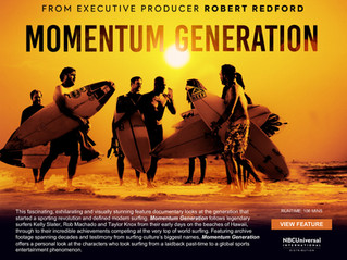 "2 Emmy Nominations for ""Momentum Generation"""