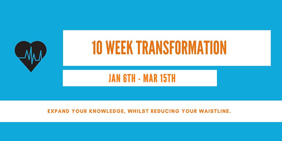 10 WEEK TRANSFORMATION