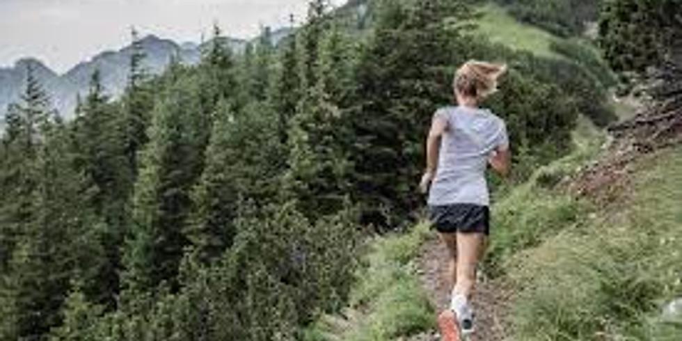 8km Trail Run with Craig