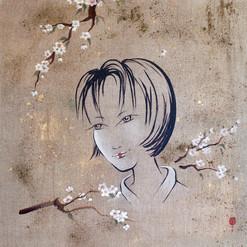 Sakura 75x75