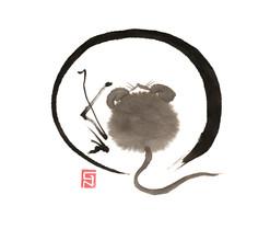 Ensō - nezumi 子年