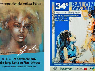 2 EXPOSITIONS à VENIR