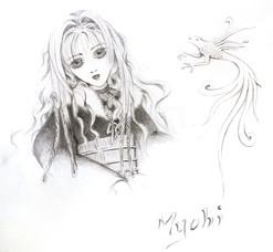 Manga, hommage à Alichino