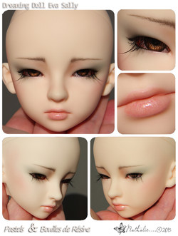 make-up DreamingDoll Sally