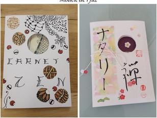 "Exemple de ""Carnet Zen"" fini"