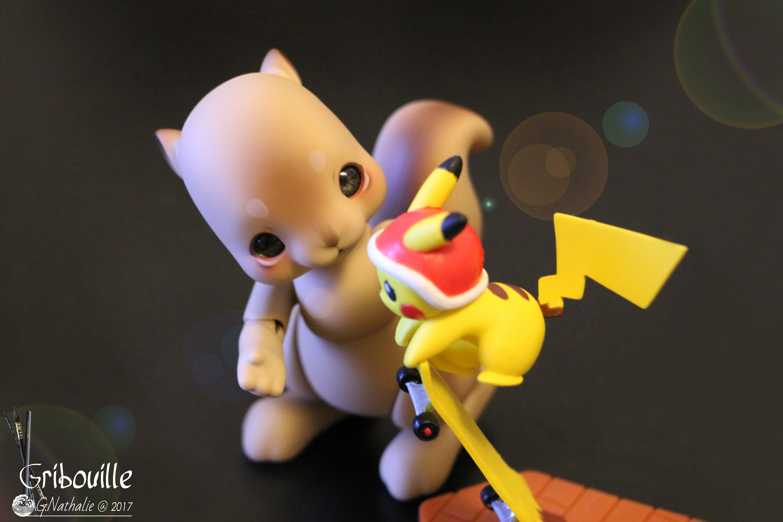 Gribouille fan de Pikachu