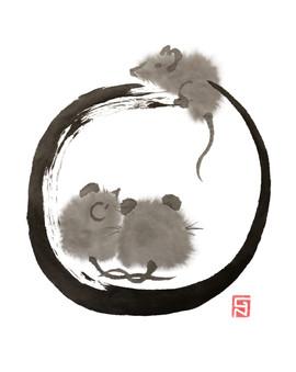 Ensō - nezumi