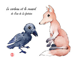 Le corbeau & le renard