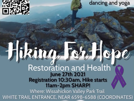 HIKING FOR HOPE