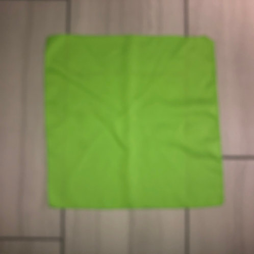17x17 lime green polyester napkin /sold in 50 packs