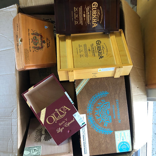 CigarBoxes - Never had cigars