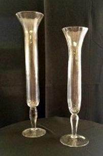"""30"""" (shortest) Fluted vase"""