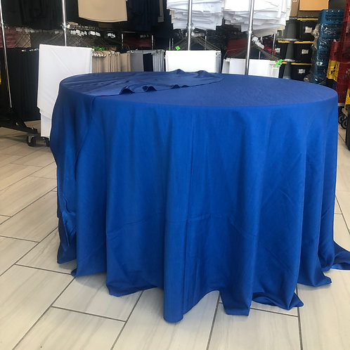 """132"""" Majestic Reversible Blue Tablecloth"""