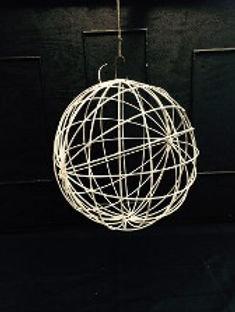 Large Sphere Metal Chandelier