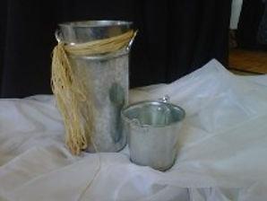 Large Galvanized Bucket