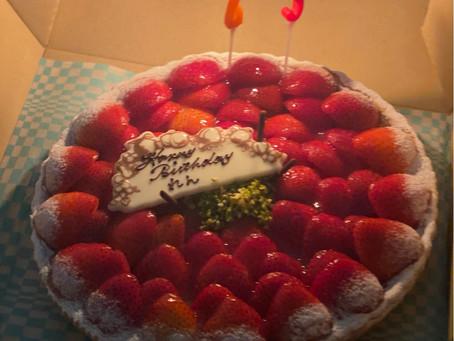 蓮ちゃんの誕生日会