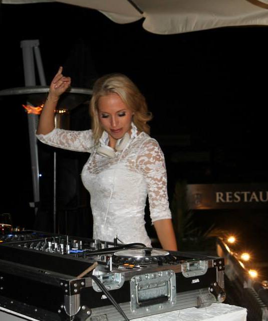 DJ Lady Lee - Beach Club, Helsingborg