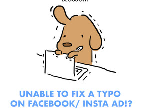 Unable to fix a typo on FACEBOOK/INSTA AD!?