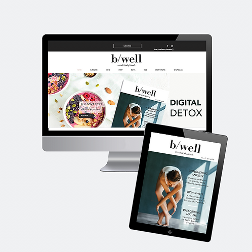 b/well yearly subscription - Digital only