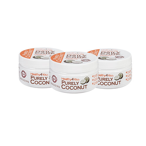 Coconut Oil-Daily Care  6.5 oz (3 Pack)