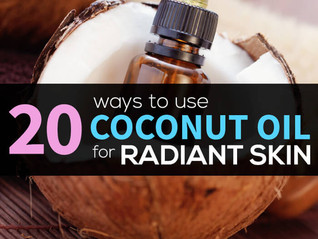 20 Secret Ways to Use Coconut Oil for Skin