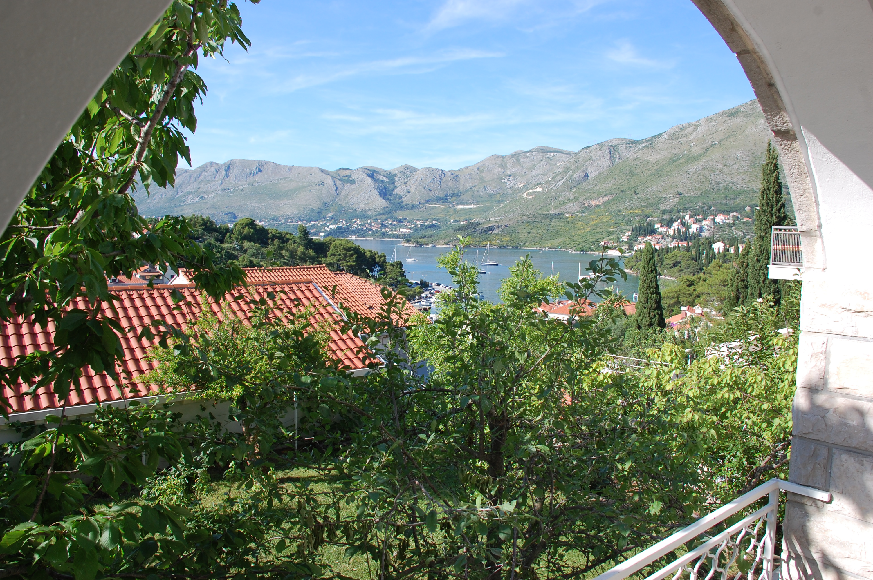 View from the loggia