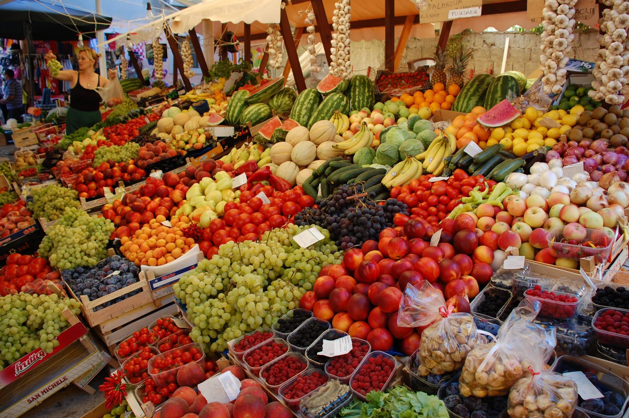 Croatian Specialty : Markets
