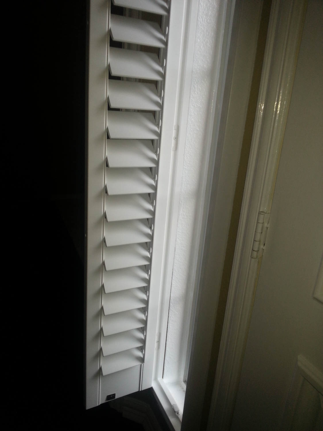 Shutters on Sidelight