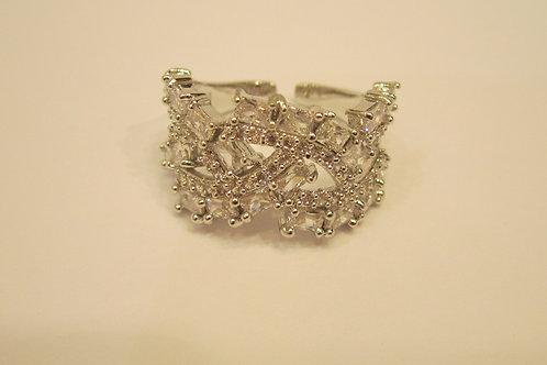 Crystal Encrusted Ring