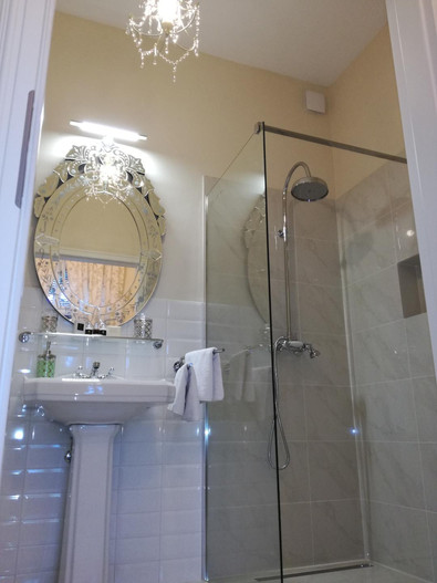 New & Modern Shower in the Garden View
