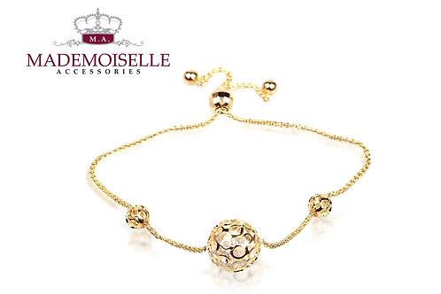 Ball Gold Plated Bracelet