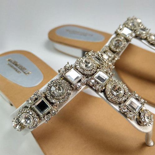 Crown Jewelled Royal Silver