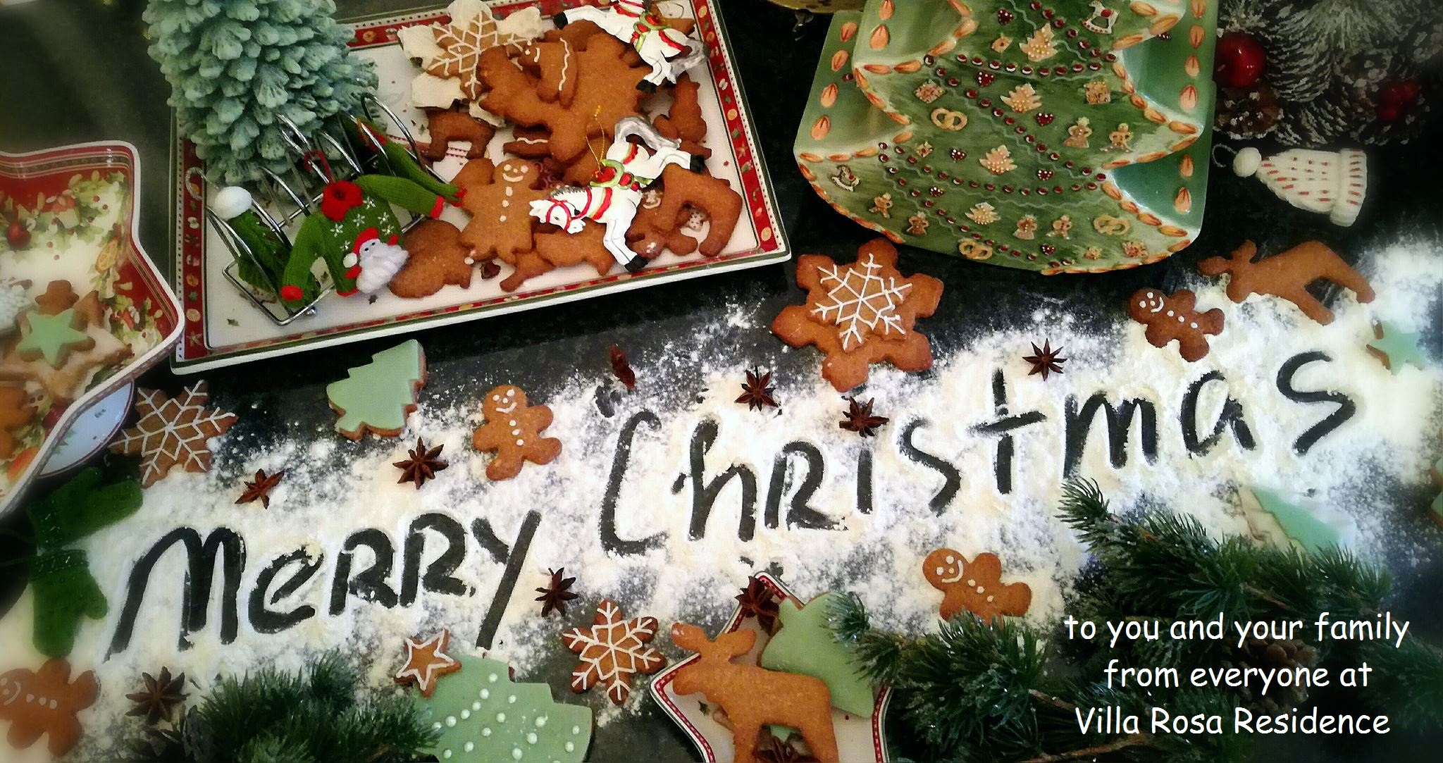 Our Christmas Cookies at Villa Rosa Residence