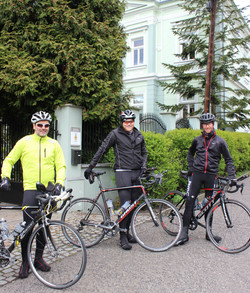Cycling Friends from Germany