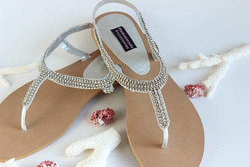Crystallised Sandals