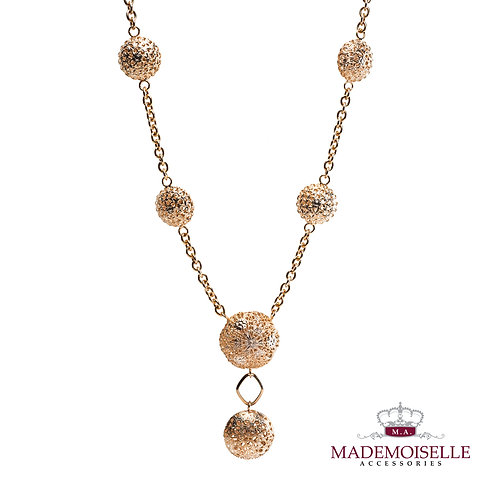 Tuscan long necklace