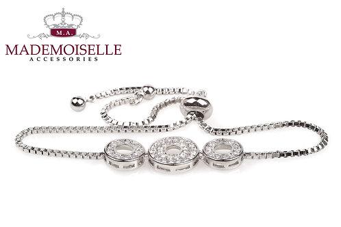 3 Rings Monika Style Bracelet