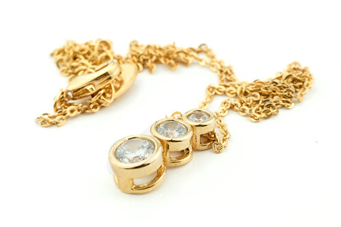 3 Crystal Necklace
