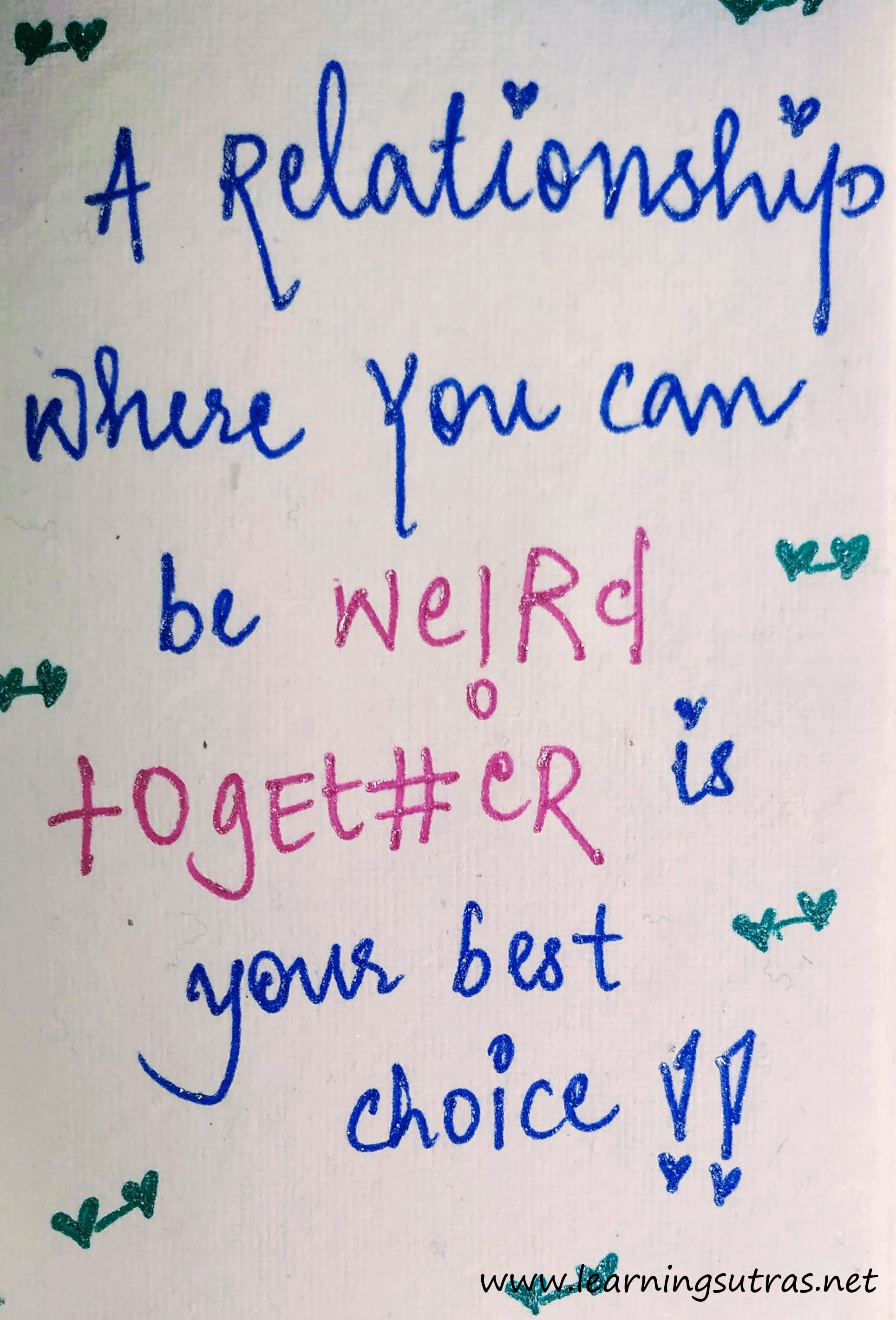 Together - Relationship Quotes - Learnin