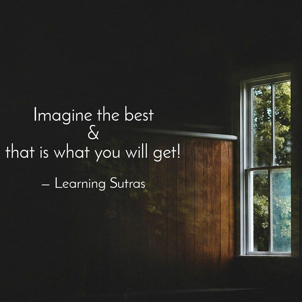 Positivity Quotes Learning Sutras