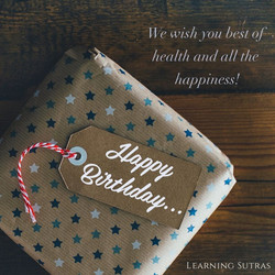 Happy Birthday_Learning Sutras