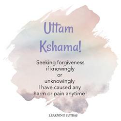 Uttam Kshama - Jainism - Learning Sutras