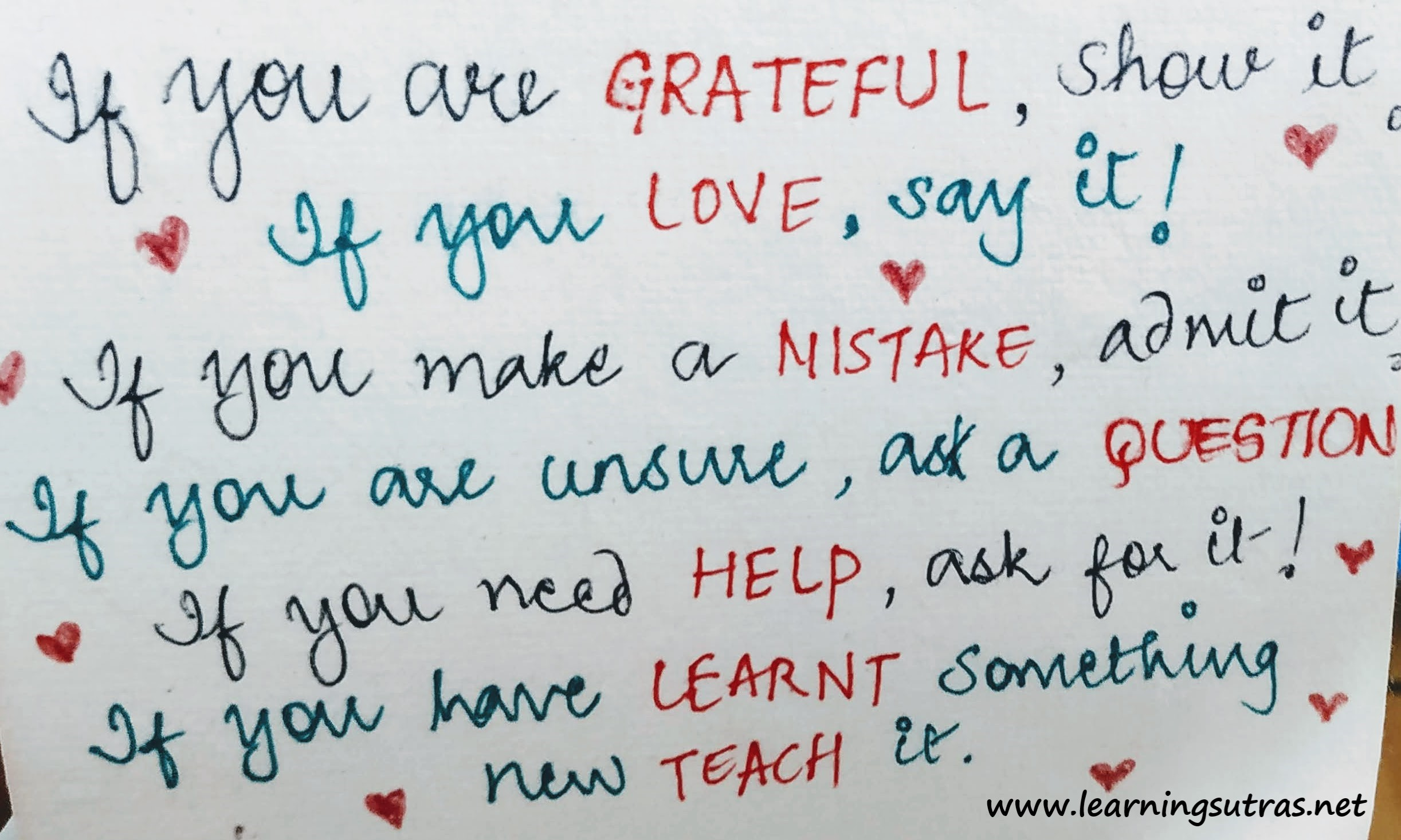Daily Inspiration Quotes - Learning Sutr