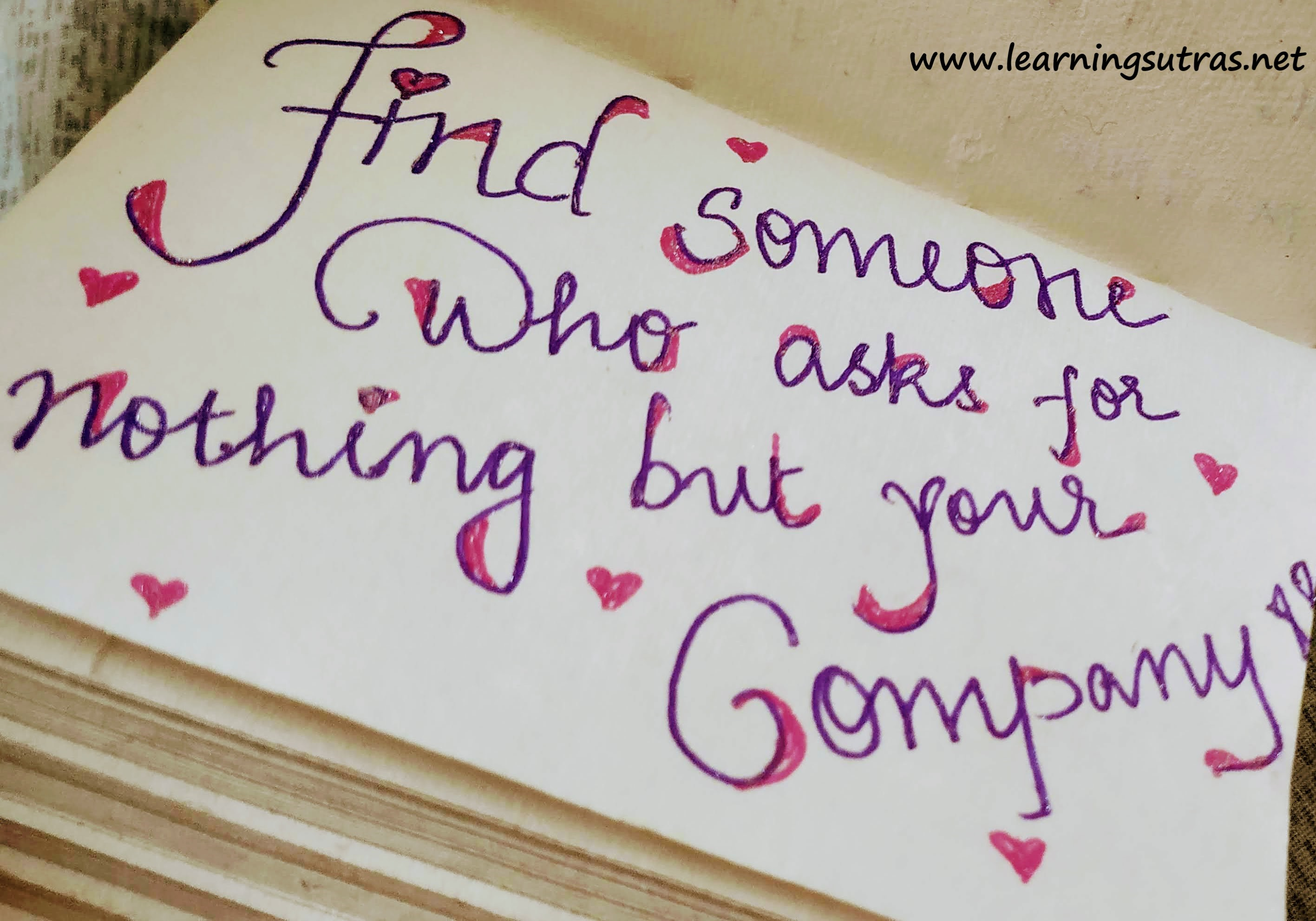 Relationship Quotes - Learning Sutras